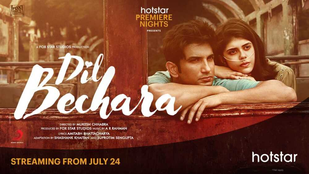 Dil Bechara movie release on Hotstar celebrity reaction on movie