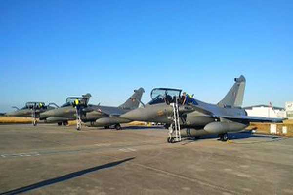 rafael fighter jets are coming from france which make indian air force more stronger