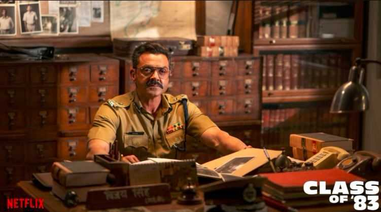 Bobby Deol became a police trainer in Class Of '83 to end crime from Mumbai